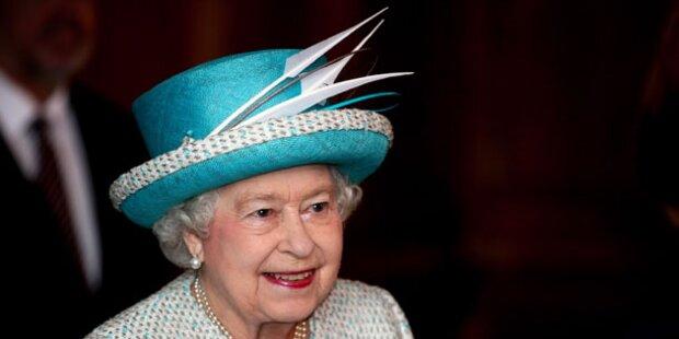 Die Queen feiert schlicht