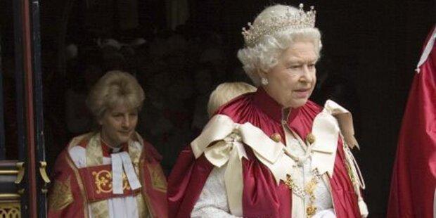 Queen Elisabeth mit großer ORF-Party