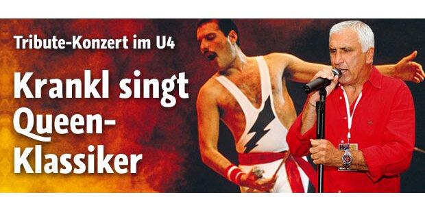 Hans Krankl singt Queen-Hits im U4