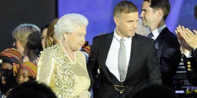 Queen ehrt Gary Barlow, Kate Winslet und Co.