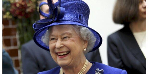Queen frühstückt wenig königlich