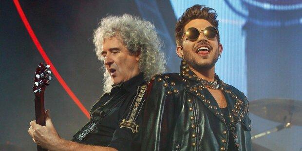 Queen rockt Wien mit Donauwalzer
