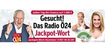 Mega-Gewinnspiel: Radio-Ö24-Jackpot: Jetzt mitspielen!