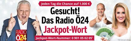 Radio-Ö24-Jackpot: Jetzt mitspielen!