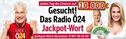 Radio-Ö24-Jackpot: Über 10.000€ gewinnen