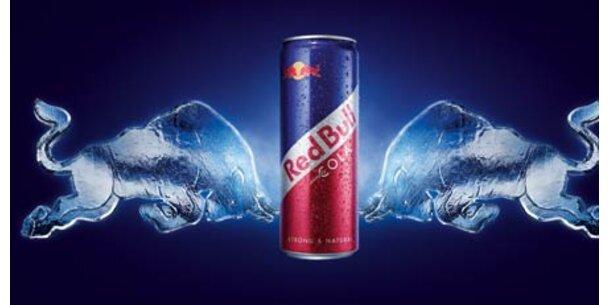 Verkauf von Red Bull Cola explodiert