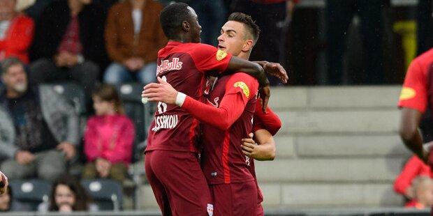 Rosenborg zu Gast in Salzburg