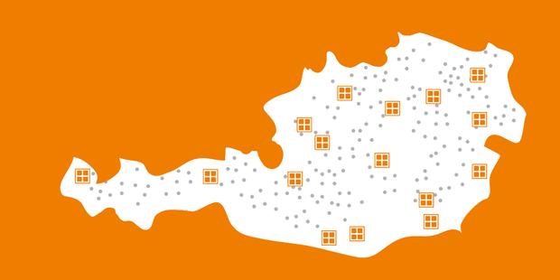 REKORD Fenster: 16 x in Österreich