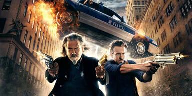 Reynolds und Bridges total schießwütig im Kino