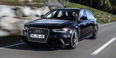Abt macht den Audi RS4 noch schneller