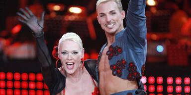 RTL-Tanzpaar Brigitte Nielsen und Oliver Tienken