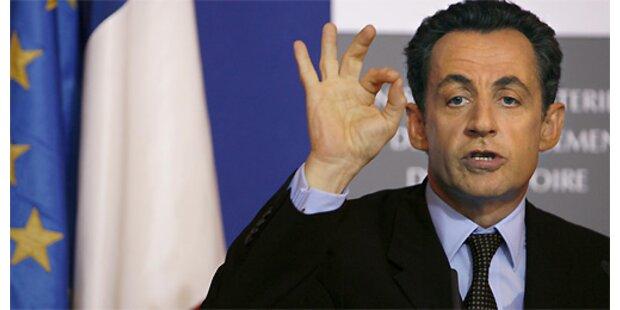 Sarkozy baut Vorsprung vor Royal aus