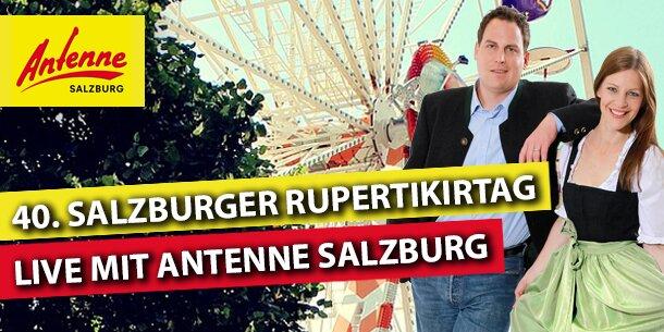 """Das """"Antenne Salzburg Studio"""" am Rupertikirtag"""