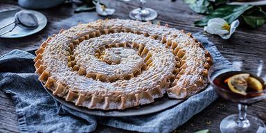 Raber Torte Kroatische Spezialität