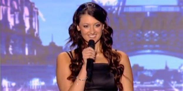 Süße Rachel rockt Jury mit Heavy-Metal nieder