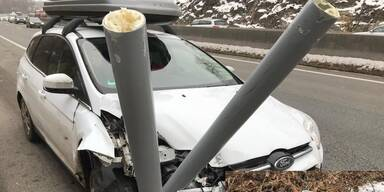 Verkehrsunfall mit Blitzer