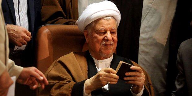 Iranischer Ex-Präsident Rafsanjani gestorben