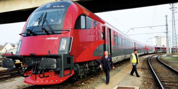 Babyleiche im Zug aus Wien gefunden