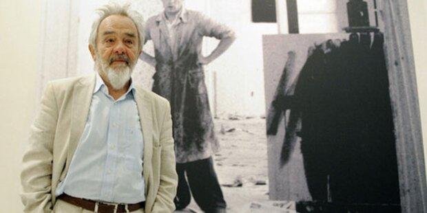 Arnulf Rainer verschenkt 110 Werke