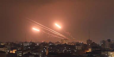 130 Raketen vom Gazastreifen auf Israel abgefeuert