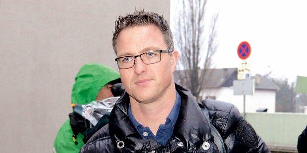Ralf Schumacher allein in Salzburg