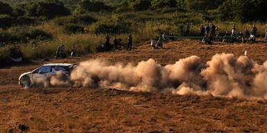 Horror-Crash bei Rallye: 3 Tote