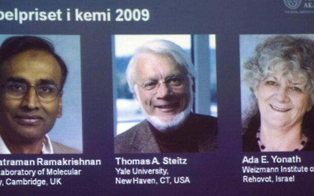 Chemie-Nobelpreisträger 2009 für Ribosom-Forschung