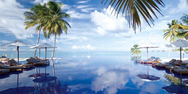 Ab auf die traumhaften Malediven!