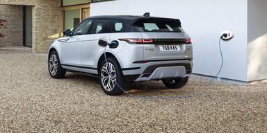 Range Rover Evoque jetzt auch mit Plug-in-Hybrid