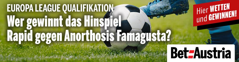 Marketingteaser Europa League Qualifikation Rapid gegen Farmagusta