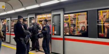 Genk-Fans eskalieren in U-Bahn