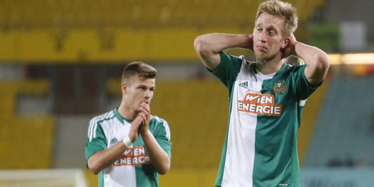 Rapid nach Euro-League-Aus unter Schock