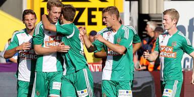 Rapid tankt Selbstvertrauen für Euro League