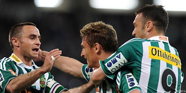 Rapid will auch nach dem Derby vor Austria stehen