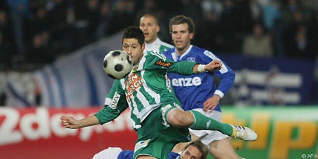 Rapid nach 2:1 bei BW Linz im Cup-Viertelfinale