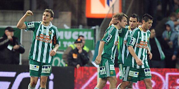 Fußball: Auftakt für Rapids Kärntner Woche
