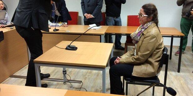 Monika Rathgeber bricht heute vor Richter im Prozess in Tränen aus