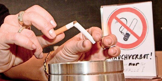 Rauchverbot: Heute fallen 28 ÖVPler um