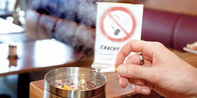 Rauch-Verbot im Freien