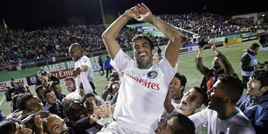 Raul verabschiedet sich mit Titel