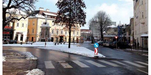 Schneebälle: Crash als Rache