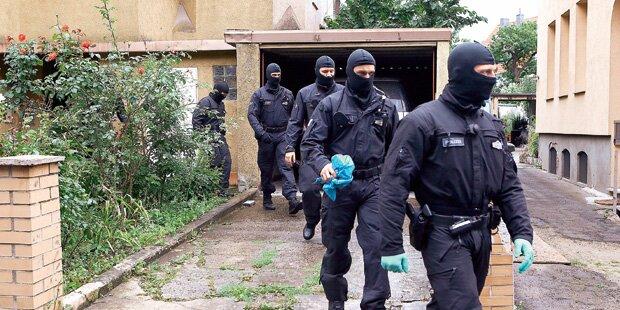 Terrorverdächtiger in Deutschland festgenommen
