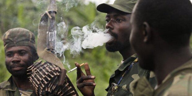 Rebellen im Kongo kündigen Rückzug an