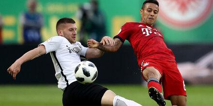 Hütter will Bayern ersten Titel stehlen
