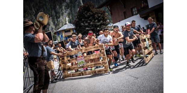 Namhafte Sportler in Mayrhofen