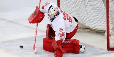 Eishockey: Red Bulls gewinnen