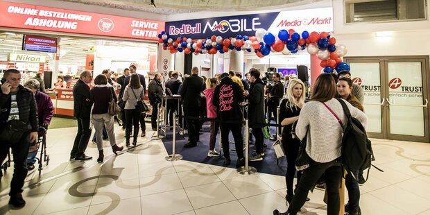 Erster Red Bull Mobile Store wurde eröffnet