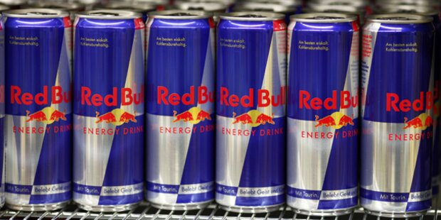 Red Bull am Buch Markt