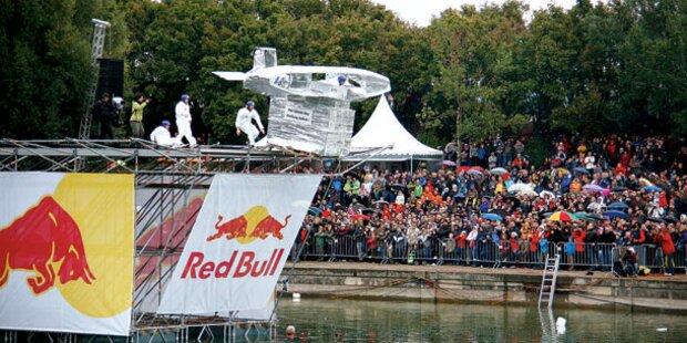 So wird der Red-Bull-Flugtag in Wien
