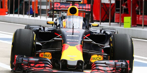 Vettel spottet über Bullen-Windschutzscheibe